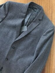 John Varvatos Collection Made In Italy Austin Fit Blazer Charcoal 50 40 1398