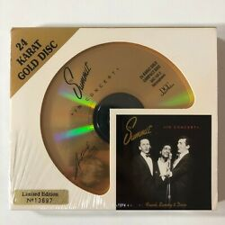 Sealed Uncut Dcc Audiophile Gold Cd - Frank Sinatra Sammy And Dean The Summit