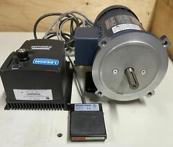 Leeson 174102.00 90v Dc Speed Control And Leeson Dc Motor C42d17fk1c/foot Pedal
