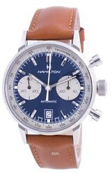 Hamilton Intra-matic Tachymeter Automatic H38416541 100m Menand039s Watch