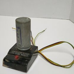 American Flyer S Scale Air Chime Whistle Generator Decent Condition Untested Fk