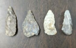 Authentic Lot 4 Humphreys And Benton Counties Tennessee Arrowheads Tools Points 1