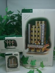 Dept 56 Christmas In The City Radio City Music Hall 58924 Rockettes 58991andnbsp