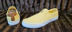 Newpolo And039thompsonand039 Yellow Casual Slip-on Shoes - Menand039s Size 8 🔥🔥