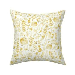 Autumn Fall Thanksgiving Throw Pillow Cover W Optional Insert By Roostery