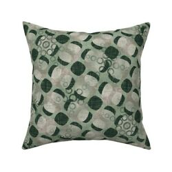 Vintage Antique 1930s Retro Throw Pillow Cover W Optional Insert By Roostery