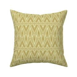 1920s 1930s Art Deco Art Throw Pillow Cover W Optional Insert By Roostery