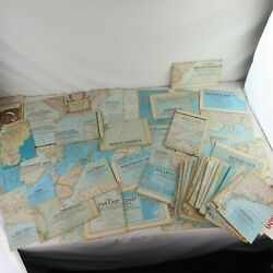 80 National Geographic Maps / Inserts 1940s-1960s Great Graphics Estate