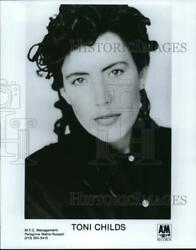 1989 Press Photo Toni Childs, Rock And Pop Singer, Songwriter And Musician.