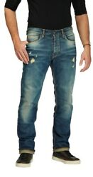 Rokker Iron Selvage Limited Motorcycle Pants - New Free Shipping