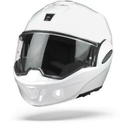 Scorpion Exo-tech Solid White Motorcycle Helmet - New Free Shipping