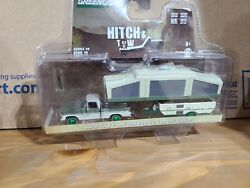 Greenlight Hitch And Tow 1970 Ford F100 Pop Up Camper Green Machine