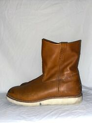 Vintage Red Wing 866 Pecos Boots Sz-12 D Dirty But Not Much Ware Great Boots