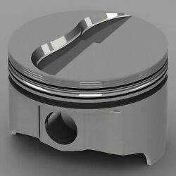 Icon Forged Piston Set - Fits Ford 427fe Rod 6.490 Flat Top 7.5cc 2v Size .047