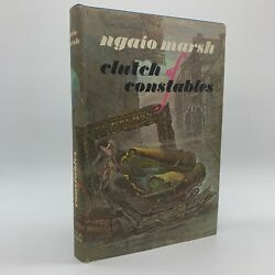Clutch of Constables Ngaio Marsh 1969 Vintage Detective Mystery $13.95