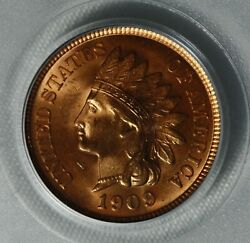 1909 1c Indian Pcgs Ms66 Rd
