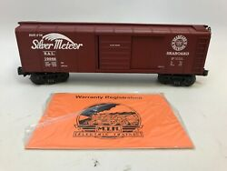 Rail King Mth 30-7449 Seaboard Rounded Roof Box Car - New