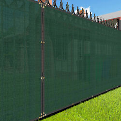 5ft Large Privacy Fence Windscreen Screen Mesh Hdpe Netting Fabric Outdoor Green
