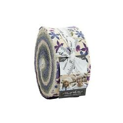 Violet Hill by Holly Taylor 2.5quot;X 42quot; Jelly Roll 100% cotton fabric