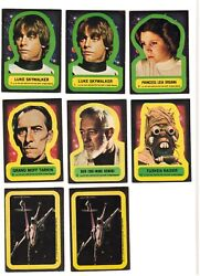 Lot Of 62 Topps 1977 Star Wars Stickers