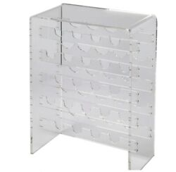 Brilliant Acrylic Clear 20 Bottle Wine Rack Holder Restaurants And Wine Rooms