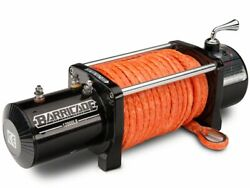 Barricade 12000 Pound Winch With Synthetic Rope - Off Road - Strong Durable