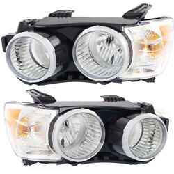 Headlight Lamp Left-and-right For Chevy Lh And Rh Sonic Gm2503396c Gm2502396c