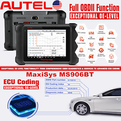 Autel Maxisys Ms906bt Mp808k Mk808bt All System Diagnostic Tool Fault Scanner