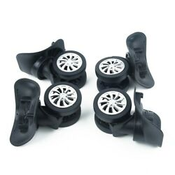 4x Luggage Caster Wheels Universal Suitcase Repair Replacement 42.55 Uk Stock