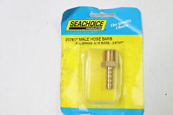 Seachoice 20781 Barb Fuel Hose Barb Fitting 3/8 In. Npt Male Threads X 5/16 In.