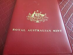-royal Australian Mint Set6 Coins-wildlife Depicted On Coins- Year 1983-rare