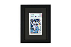 Psa Graded Card Frame Display Holds 1 Slabs Baseball Uv Protection Optional