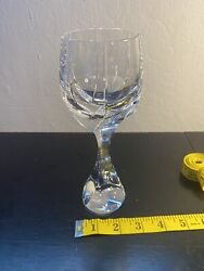 Baccarat Neptune Crystal Water/wine Goblet8
