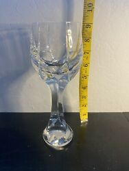 Baccarat Neptune Crystal Water/wine Goblet9