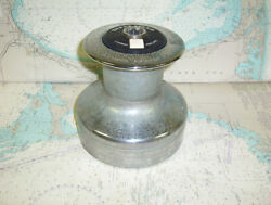 Boaters Resale Shop Of Tx 1711 0757.01 Lewmar 44 Chrome Plated 3 Speed Winch