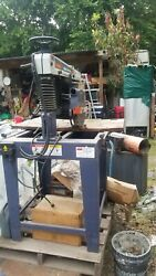 Radial Arm Saw 10 In 12 In Blade Dia. 1 In Arbor Size 0anddeg To 45anddeg Miter Angle