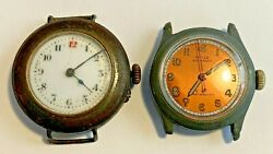 Pair Of Vintage Watches Royce Waterproof And Military Style Watch