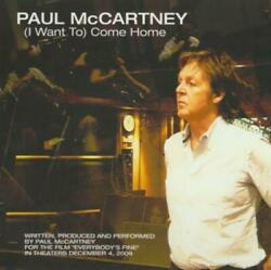 Paul McCartney: I Want To Come Home PROMO MUSIC AUDIO CD Everybody#x27;s Fine 2009