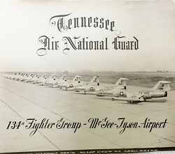 Tennessee Air National Guard Photograph 134th Fighter Group F-104 Original 1961