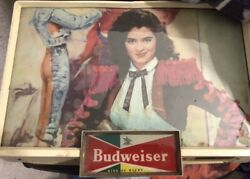 Vintage 1950s Budweiser Lighted Signs