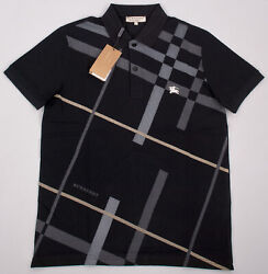 Burberry Cotton Polo Shirt for Men in Black $88.99