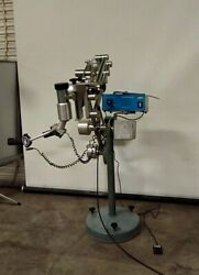 Zeiss Contraves Cm Kbk 120 002 3139 Stereo Microscope W/ Super-lux 40