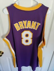8 Kobe Bryant 2000-2001 Nba Finals Mitchell And Ness Authentic Jersey