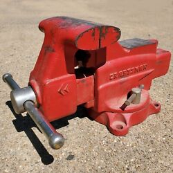 Craftsman No. 391-5181 Vintage Swivel Vise With Pipe Jaws Functional Japan Made