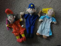 Elc Punch And Judy Puppets Policeman Hand Puppet Play Therapy Pre School Story Aid