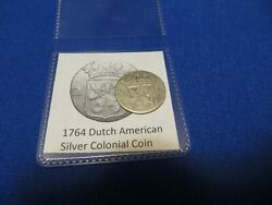 1764 Silver Early American Colonial Coin Before Us Minted Coins Free Shipping
