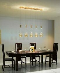 Chandelier Hanging Modern In Murano Glass Original Made In Italy 5 Light Led