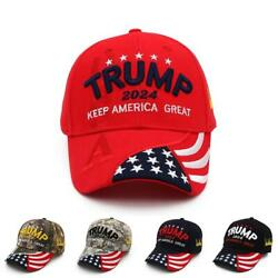 New Donald Trump 2024 Cap Usa Baseball Caps Protect America Good Snapback Pre...