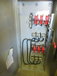 Siemens Dtf364r, 200 Amp, 600 Volt, 3 Pole, 4 Wire, Double Throw Switch- Ats370
