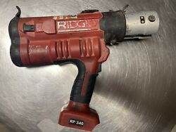 Ridgid Rp340-b Propress Tool Crimping Crimper For Parts Tool Only